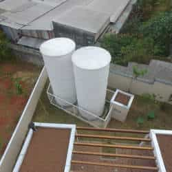 Abrandador de água para caldeira